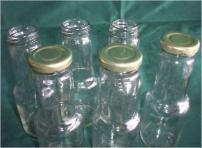 Glass sauce bottles Food grade suitable sauce-toppings-etc x 15