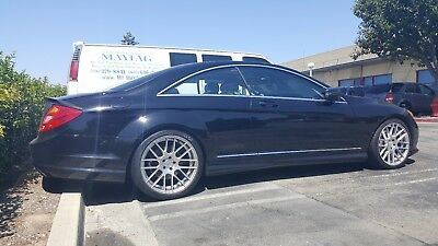 2012 Mercedes-Benz CL-Class CL 550 4MATIC 2012 Mercedes-Benz CL550 4MATIC Coupe Sport Package Low Miles Custom Wheels MBZ