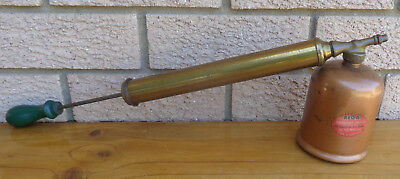 Vintage Rrtto, Rega, Copper And Brass Fly Spray.  Collectible