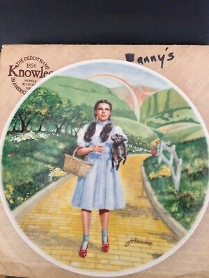 """Knowles collector plates """"The Wizard of Oz"""" series (8 plates) 1979"""