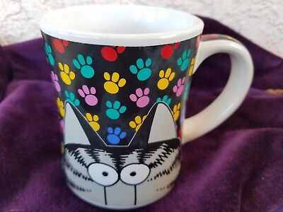 Large BIG CAT PAW PRINTS MUG KLIBAN  Hawaii