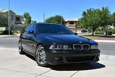 2000 BMW M5  2000 2001 M5 BMW Excellent carbon black owned by enthusiast since 2009