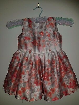 Size 1 - Target - Baby Dress With Butterflies and Flowers.