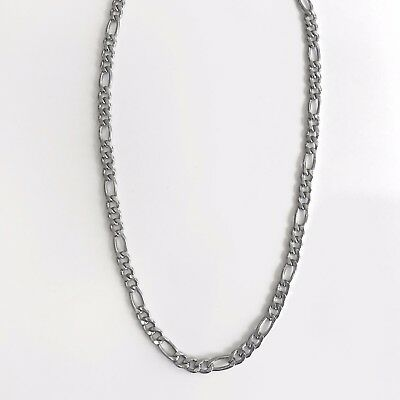40% SALE! Stainless Steel Medium Figaro 45Cm Chain RRP $34.95