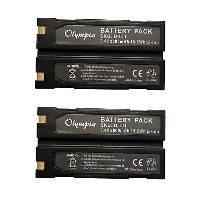 Trimble 54344 Battery Replacement for Trimble TR-R8 GPS Battery Pack of Two new