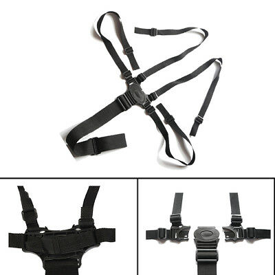 5 Point Infant Baby Safe Adjustable Belt Stroller Chair Pram Buggy Strap Harness