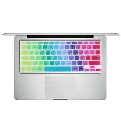 Protection Clavier Mac Film protecteur coloré de silicone d'ordinateur portable