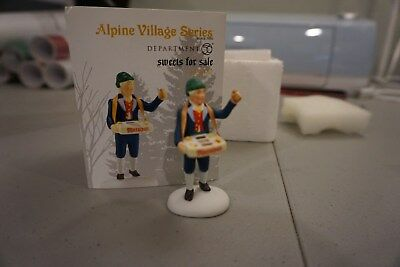 "Department 56 Alpine Series ""Sweets for Sale"" Accessory #4036487"