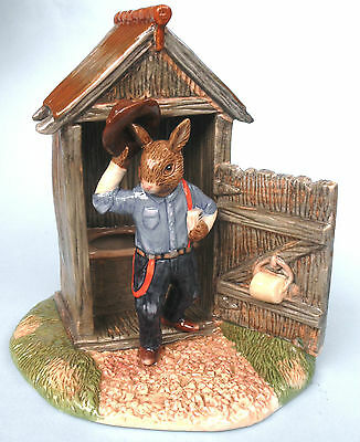 Royal Doulton Outdoor Dunny Bunnykins DB497 limited edition new in box
