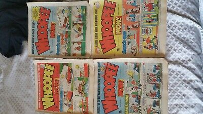 4 WHOOPEE! Comic - Date 3 SEPT TO 24 SEPT 1983 - UK Paper Comic
