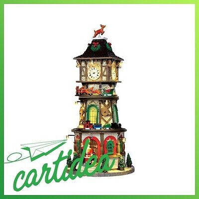 LEMAX VILLAGE - CHRISTMAS CLOCK TOWER - ATTRAZIONI - SIGHT & SOUND cod. 45735