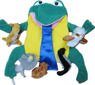 Tiddalik the frog puppet set aboriginal dreamtime story