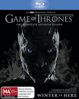 Game of Thrones Season 7 BRAND NEW SEALED BLU RAY In Stock Now