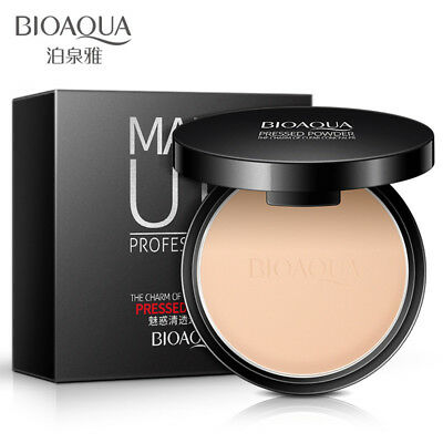 Waterproof Matte Pearl Finishing Powder Face Whitening Concealer Pressed Powder