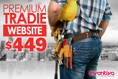 SPECIAL: Premium Tradie Custom Business Website | $449 Fully Implemented 70% Off