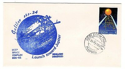 Shuttle 34 DSS 66 Madrid Spain Tracking & Support Souvenir Envelope