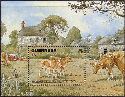 Guernsey 1992 150th Anniversary of Royal Guernsey Horticultural Soc. MS561  MNH