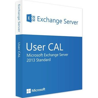 Microsoft Exchange Server 2013 Std 1 User CAL
