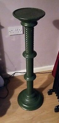 Vintage Plant stand green