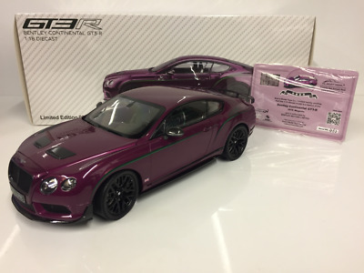 Almost Real 830404 Bentley Continental GT3-R 2015 Magenta 1:18 Scale