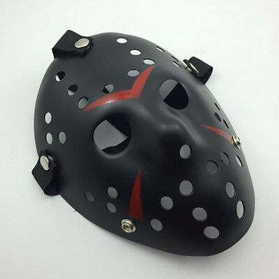 Jason Voorhees Scary Prop Hockey Halloween Cosplay Creepy Mask Friday 13th Cheap