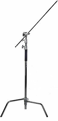 Century Stand All Solid Metal 305cm/10ft Adjustable with Boom Arm by Lencarta