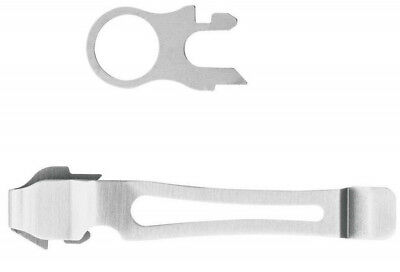 Leatherman Stainless Steel Pocket Clip & Lanyard Ring for Wave, Surge, Charge