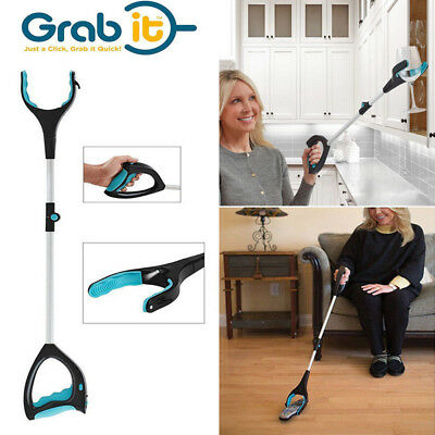 Newest Grab It Grip Trash Pick Up Disabled Garden Arm Extension Grabber Tool
