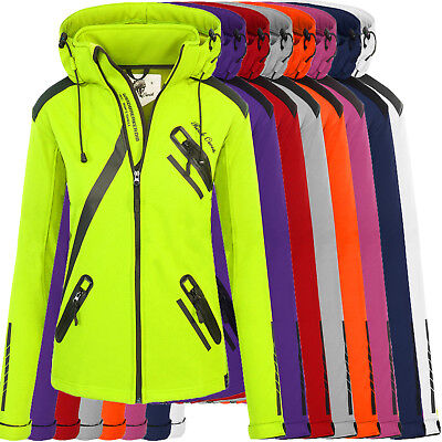 Rock Creek Damen Softshell Funktions Outdoor Regen Jacke Softshelljacke D-371
