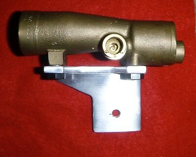 Solid Brass! M19 scope DL-44 DL44 Empire Strikes Back w/ mount ESB Sherman tank