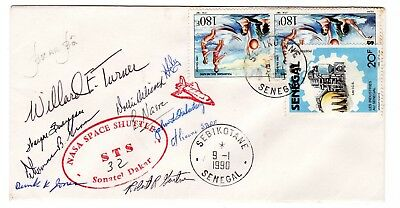 Shuttle 32 NASA Senegal Tracking & Support SIGNED Souvenir Envelope