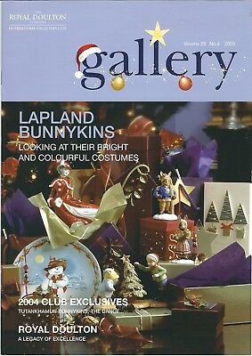 (27) Vintage Royal Doulton  Figurines Collectors Gallery Magazine