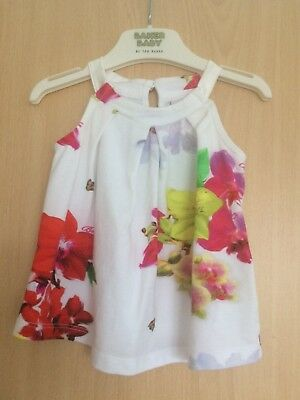 Ted Baker Baby Girls Top Age 6 / 9 Months