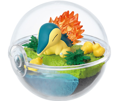 Pokemon Terrarium Collection 3 Cyndaquil from Japan Re-Ment SALE