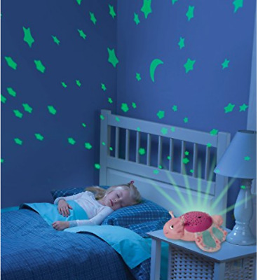 Best Baby Sleep Soother Good Night Light Projector Musical Kids Christmas Gift