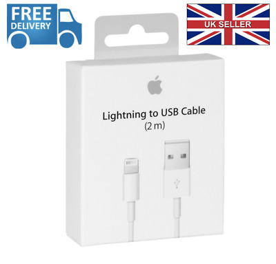 1m 2m ORIGINAL GENUINE Apple Lightning USB Data Charger Cable iPhone 6 6S 7 Plus