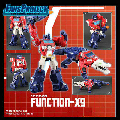 [NEW][Transformers] FansProject (FPJ) Function – X9 Positum