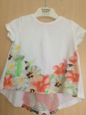 Ted Baker Baby Girls Top Age 3 / 6 Months