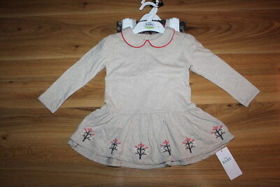 M&S girls winter dress leggings outfit 12-18 months NEW *I'll combine postage
