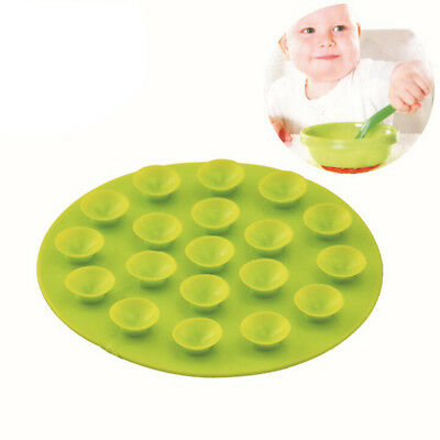 Non-slip Double-sided Feeding Bowl Cup Bot Meal Mat Magic Suction Mat om