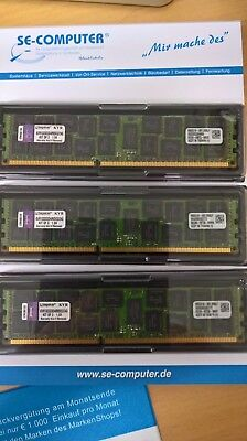Kingston 24GB (3 x 8GB) Server Memory  KVR1333D3D4R9SK3/24G