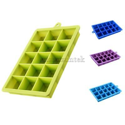 Whiskey Ice Ball Cube Maker Tray Sphere Mould Mold Party Brick Round Bars