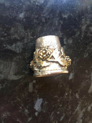 Silver Hallmarked with Sovereign head Thimble