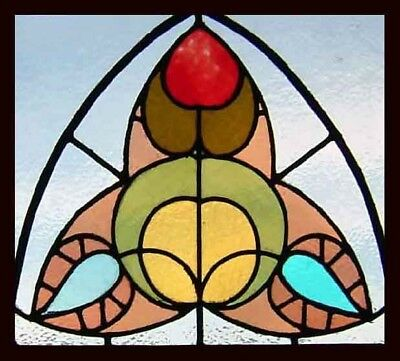 Original Gothic Stained Glass Window