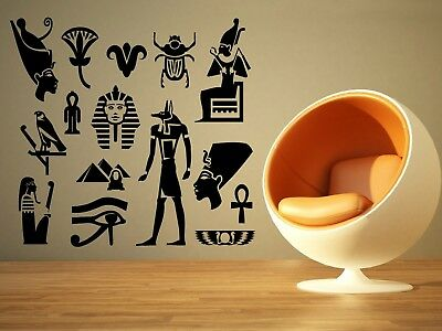 Wall Room Decor Art Vinyl Sticker Mural Decal Egyptian God Eye Big Large AS1147