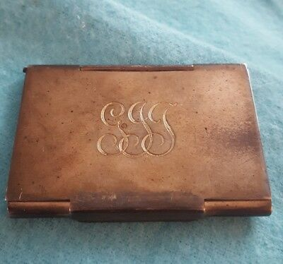 vintage Tiffany & Co sterling silver stamp case