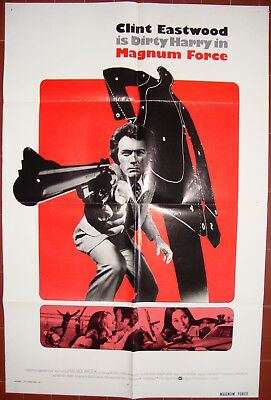 Magnum Force-Ted Post-Clint Eastwood-David Soul-OS Foreign (27x41 inch)