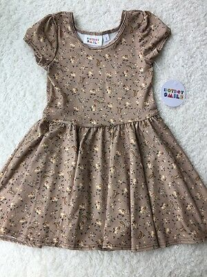 Dot Dot Smile Dress, Size 2 Years, Slinky Material, Classic Cap Sleeve