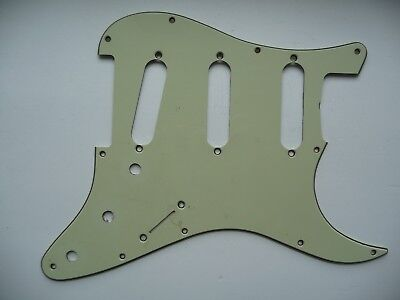 Fender Stratocaster Relic Pickguard 1962 Modell Re-Issue mint 1959 - 1963