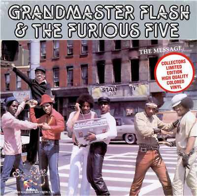 Grandmaster Flash & The Furious Five ‎– The Message, LP Vinyl, Collectors Ltd Ed